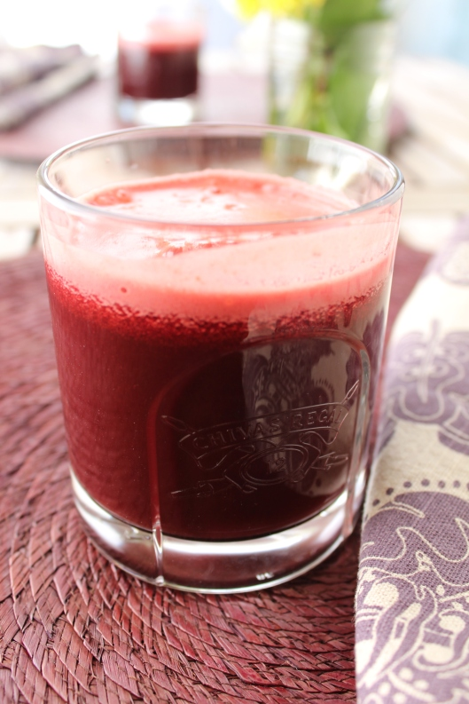 Carrot-Apple-Beet-Swiss Chard Juice